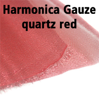 25.Harmonica_Gauze_quartz_red