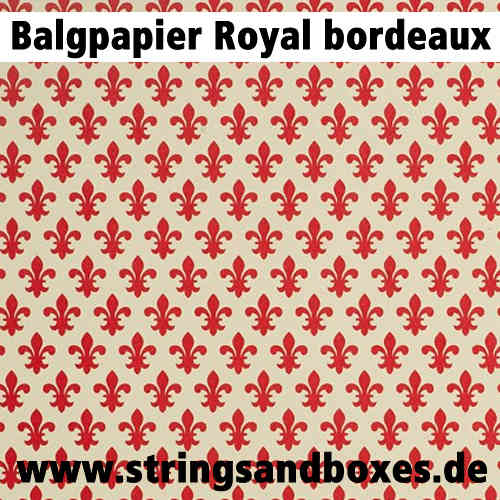 Steirisches Balgpapier • Royal Bordeaux