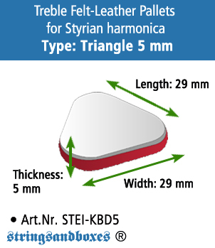 42.Styrian_Felt-Leather_triangle_5mm